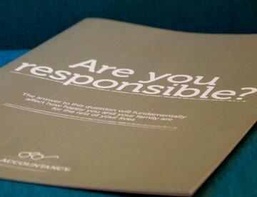 Lifetime Financial Responsibility